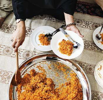 arroz árabe, arroz con pasas, arroz peruano navideño