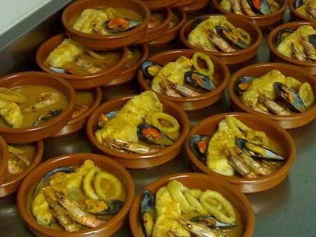 caldereta de pescado, guiso de pescado, zarzuela de pescado, caldereta de pescado y marisco, caldereta asturiana