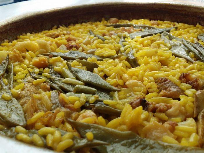 receta paella