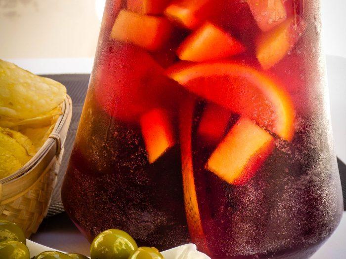 sangría, bebida española