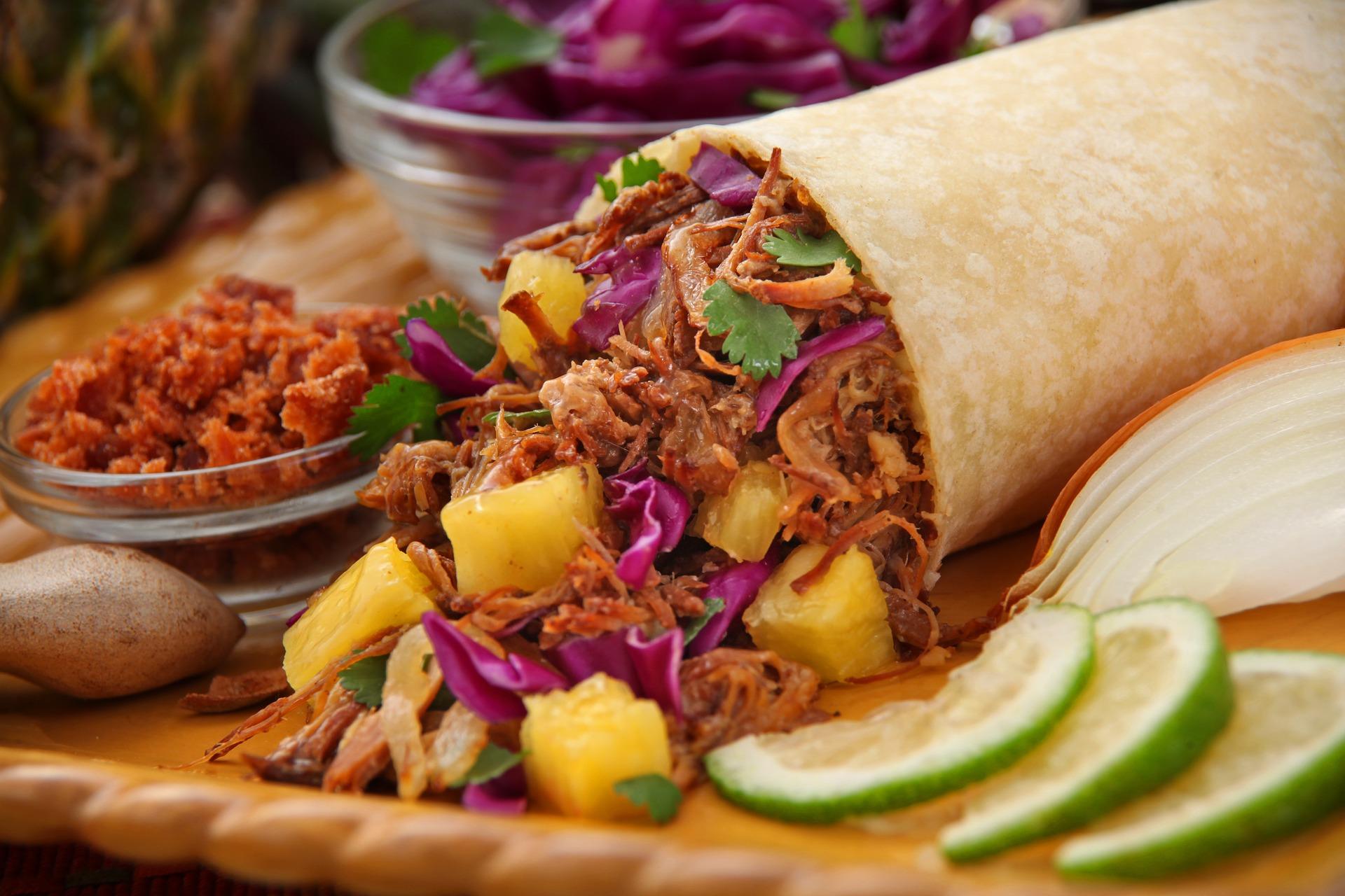 tacos al pastor, tacos mexicanos