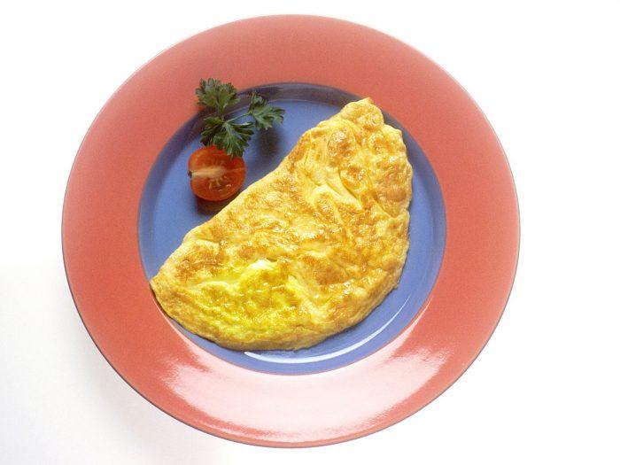 tortilla francesa, omelet
