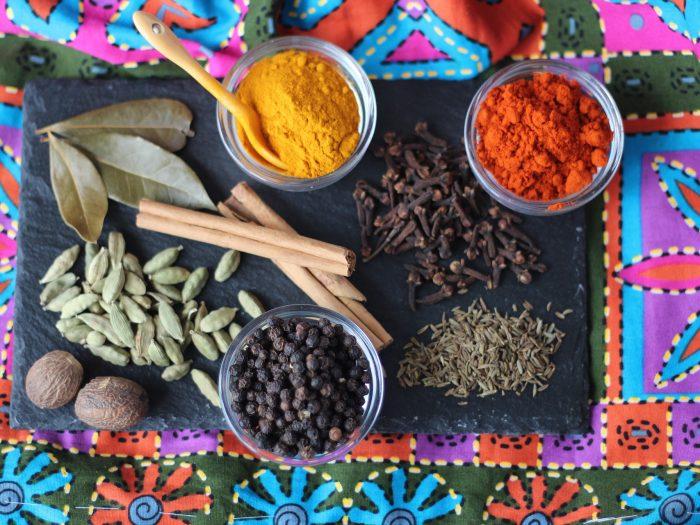 Garam Masala, masala, mezcla de especias indias