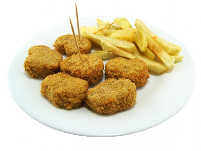 Nuggets de Verduras, nuggets vegetales, nuggets saludables