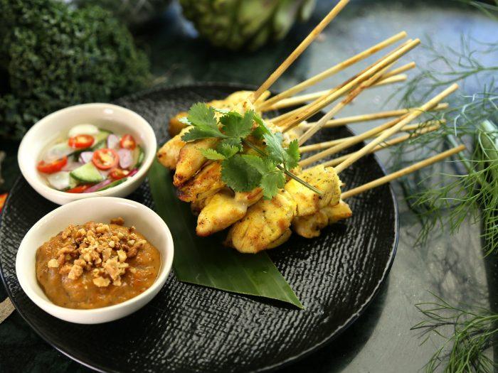 Salsa Tailandesa con Pollo