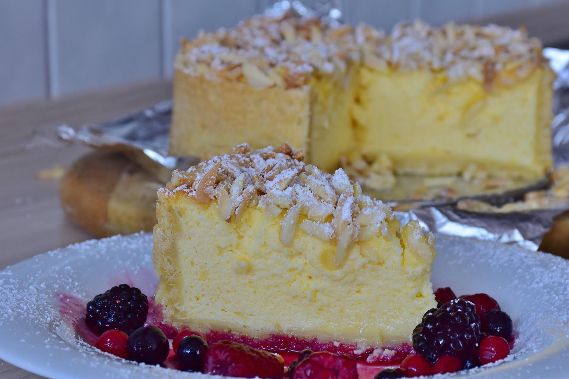 torta de almendra, bizcocho de almendra, almendrado, torta cristina