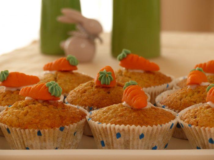 cupcake de zanahoria, magdalena de zanahoria, madalena de zanahoria