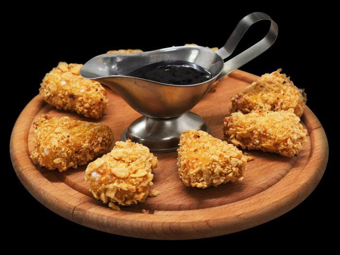 nuggets, nuggets de pollo